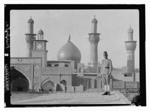 The great mosque in Kerbela, Iraq.