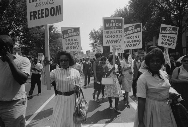 Civil Rights March on Washington, D.C.,