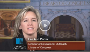 Lee Ann Potter, Director of Educational Outreach at the Library of Congress, outlines the varied educational resources.