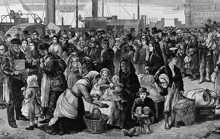 population famine in ireland 1847