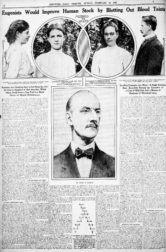 New York Tribune 1912 article in Chronicling America collection