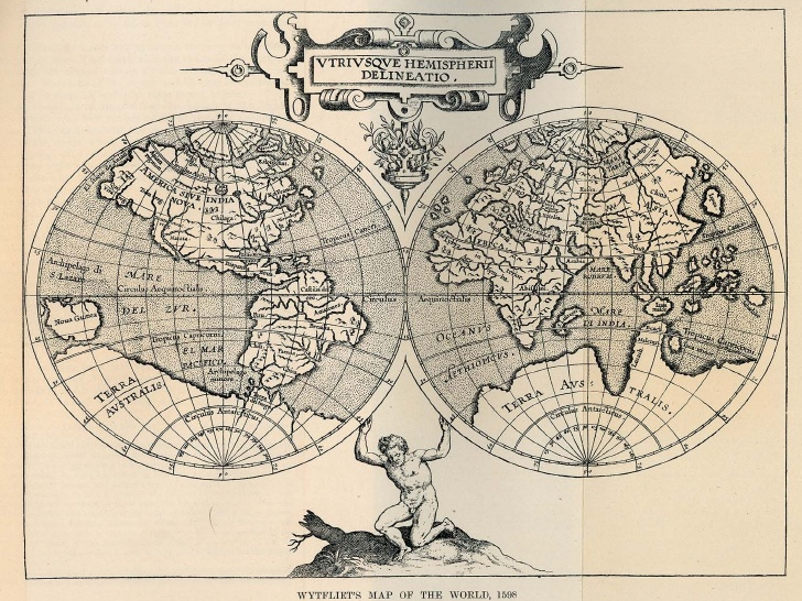 historical map of the world