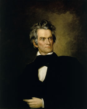 portrait of John C Calhoun