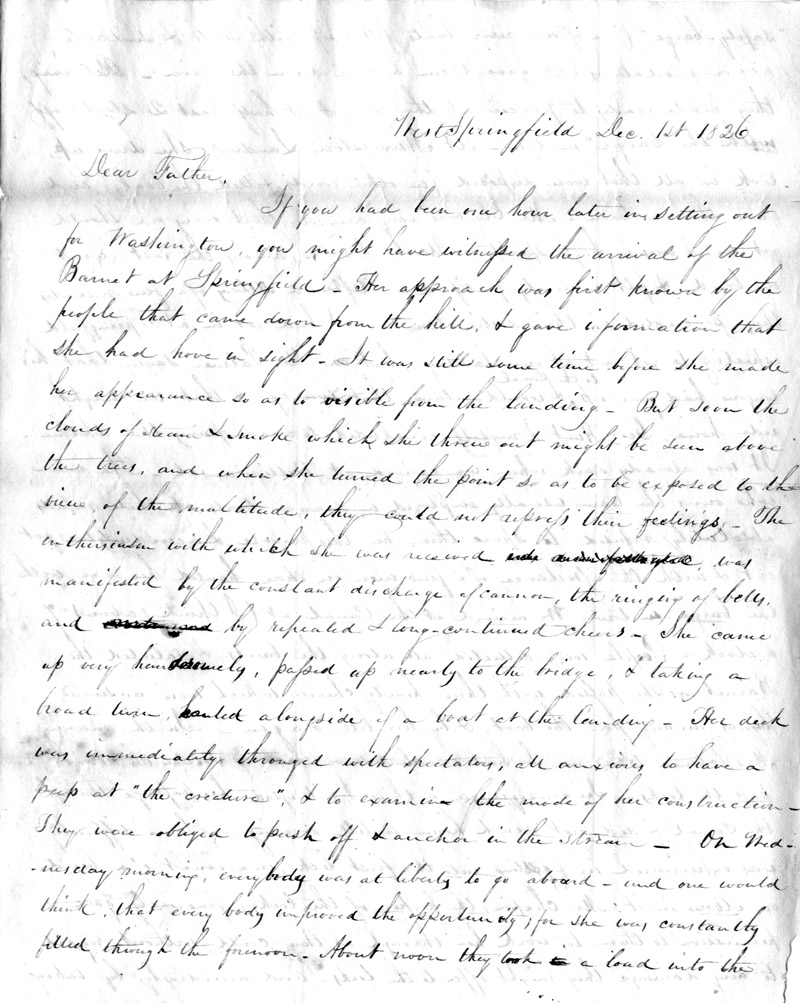 lathrop letter page 1