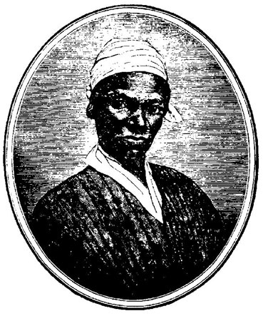 This picture appeared in Sojourner Truth's autobiography. Image provided by the Historic Northampton Museum.