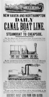 Ad: Daily Canal Boat Line
