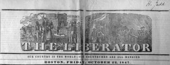 Liberator newspaper, signed by H. Judd