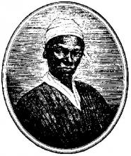 Sojourner Truth Woodcut