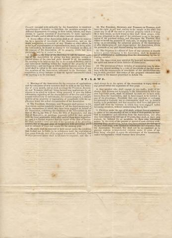 Northampton Association Records: Constitution and By-Laws, 1842 (page 2)