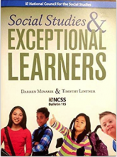 Social Studies & Exceptional Learners book cover.