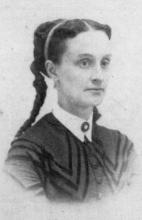 Black and White Image of Lucy Stetson